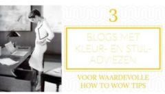 top 3 blogs stijladvies